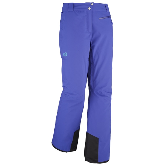 Millet Big White Stretch Pant W - Purple Blue