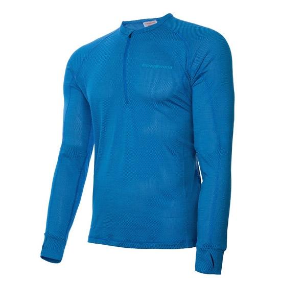 Trangoworld Fanlo LS Shirt - Azul Oscuro/Azul Cielo