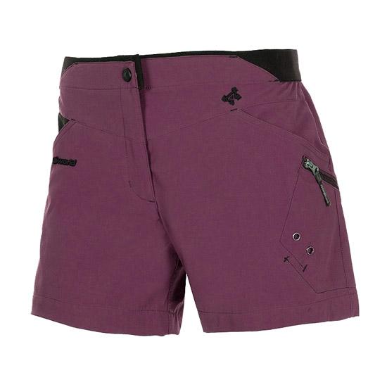 Trangoworld Sesa Shorts W - Morado/Negro