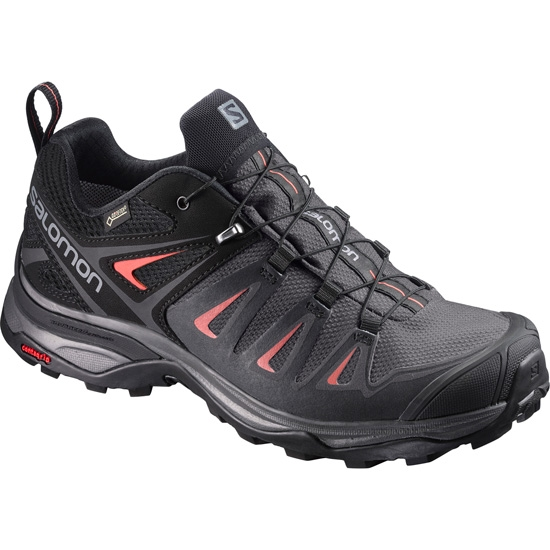 Salomon X Ultra 3 GTX W - Magnet Black/Mineral Red