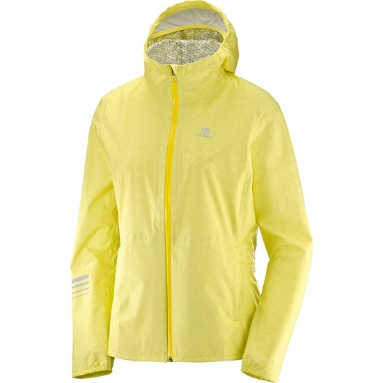 Salomon Lightning Wind Hoodie W - Limelight