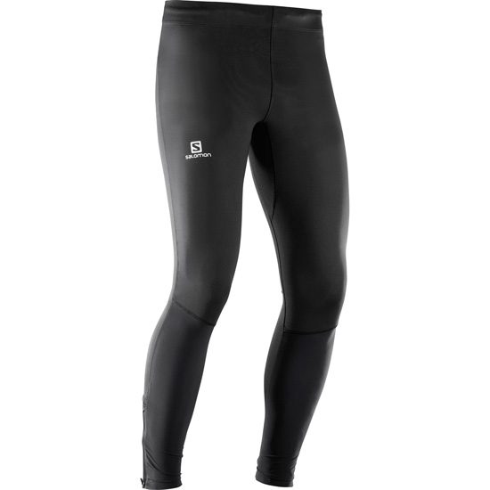 Salomon Agile Long Tight - Black