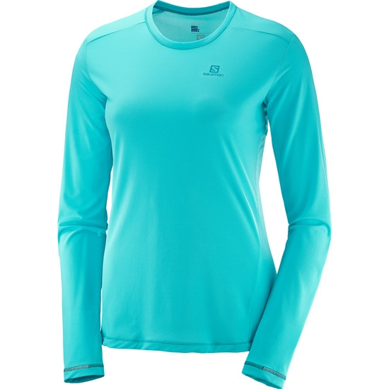 Salomon-Agile-Ls-Tee-W-Camisetas-Tecnicas
