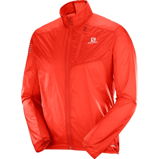 Salomon Fast Wing Jacket - Fiery Red