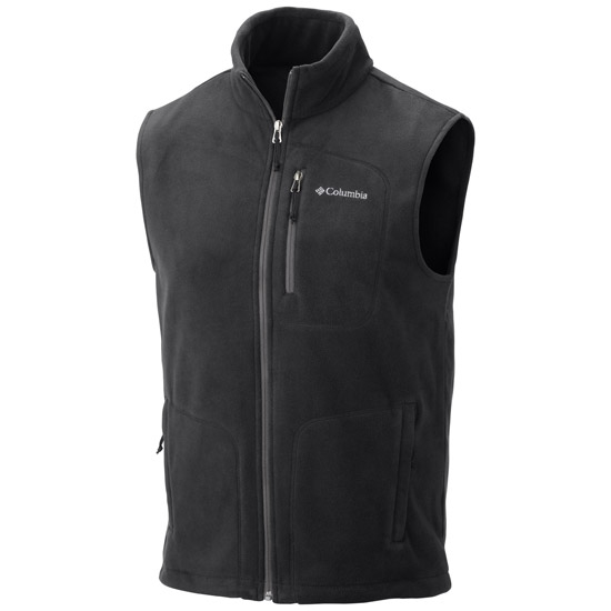 Columbia Fast Trek Fleece Vest - Black