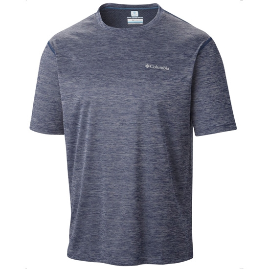 Columbia Zero Rules SS Shirt - Carbon Heather