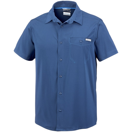 Columbia Triple Canyon Solid SS Shirt - Carbon