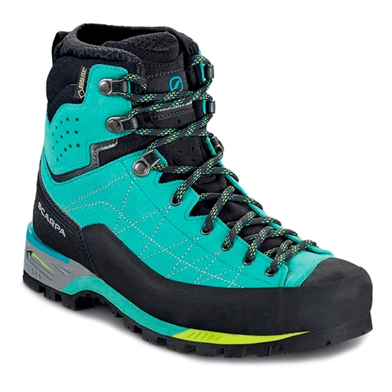 Scarpa Zodiac Tech GTX W - Green-Blue