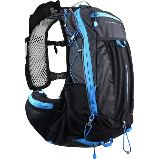 Raidlight Ultra Legend 12 L - Black/Electric Blue