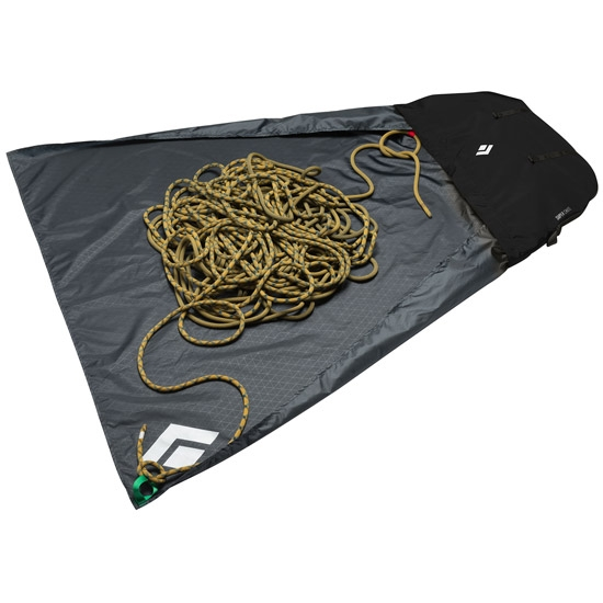 Black Diamond Super Chute Rope Bag - Photo of detail