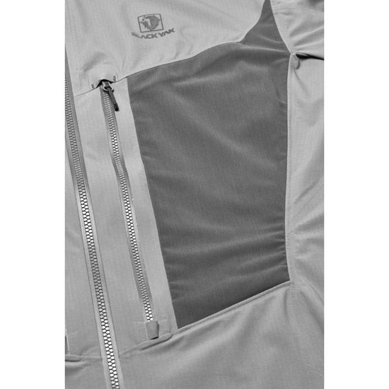 Black Yak Lightweight Stretch 3L Jacket - Photo of detail