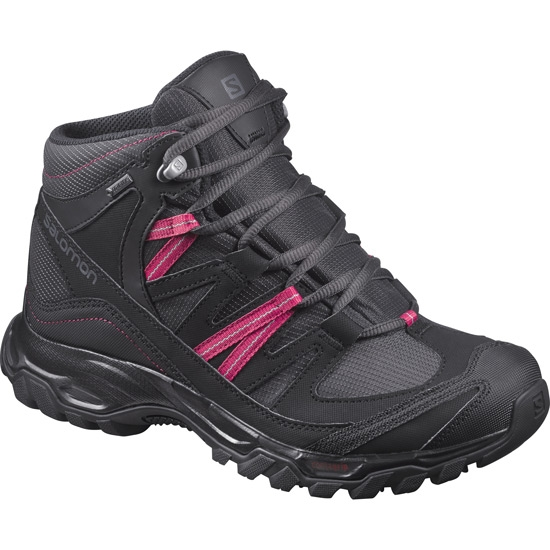 Salomon Shindo Mid Gtx W - Black/Sangria