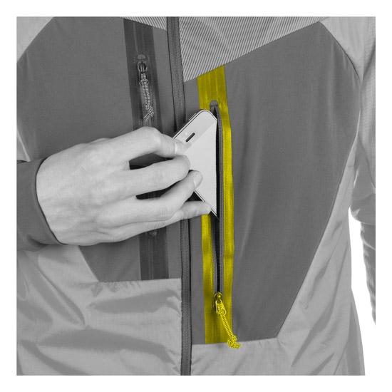 Salewa Pedroc Hybrid Polartec Jacket - Detail Foto
