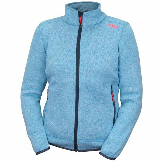 Campagnolo Knitted Jacket Girl - Clorophilla/Red Fluor