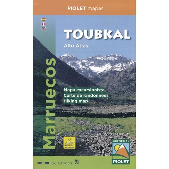 Ed. Piolet Mapa Toubkal Alto Atlas 1:40000 -