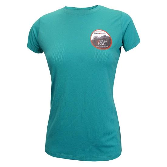 Trangoworld Camiseta GTTAP W - Agua Marina