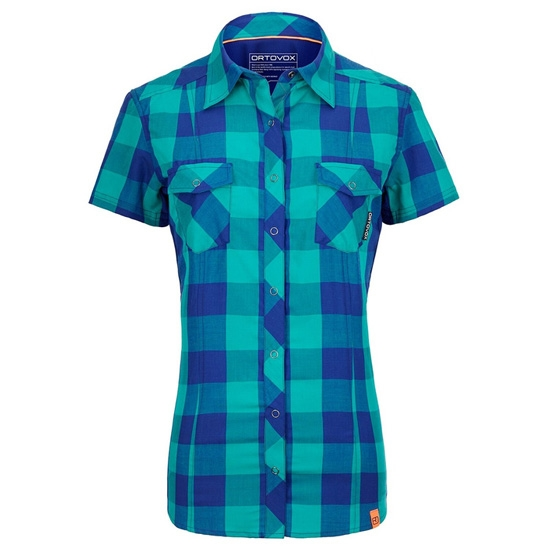 Ortovox Rock'N'Wool Stretch Shirt W - Strong Blue