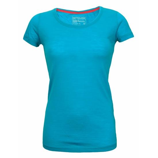 Ortovox Short Sleeve Clean W - Aqua