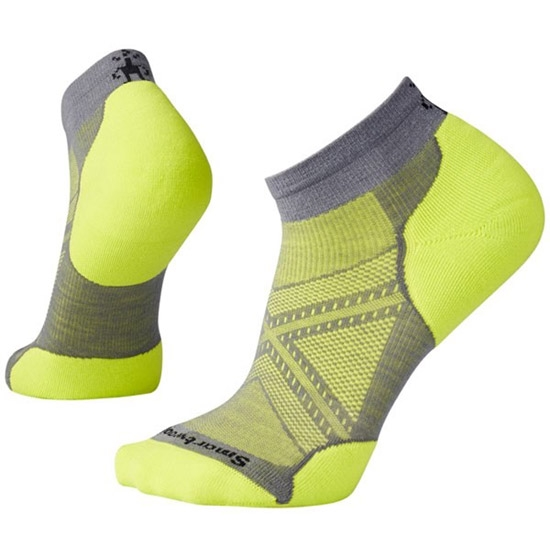Smartwool PHD Run Light Elite Low Cut - Graphite/Green