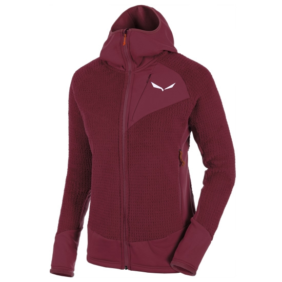 Salewa Ortles Ptc Highloft Hoody W - Tawny Port
