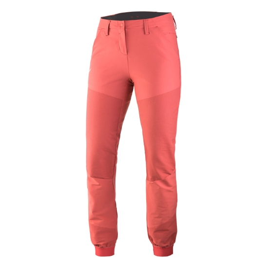 Salewa AGNER DST ENGINEERED PANT W - Mineral Red