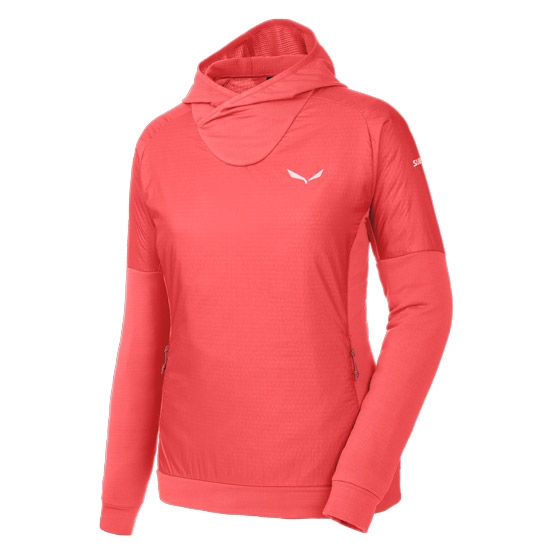Salewa Pedroc Polartec Alpha Hoody W - Hot Coral