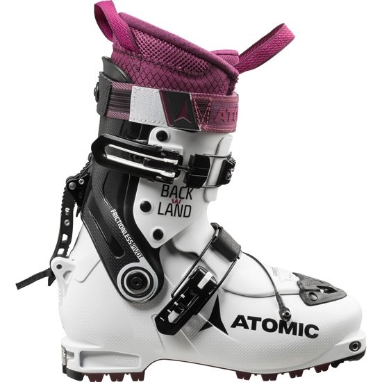 Atomic Backland W - White/Purple/Black