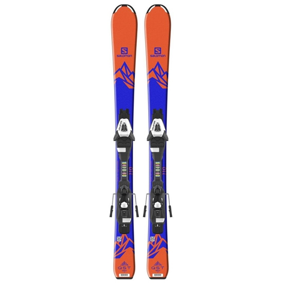 Salomon Qst Max Jr S + C5 - Orange/Dark Blue