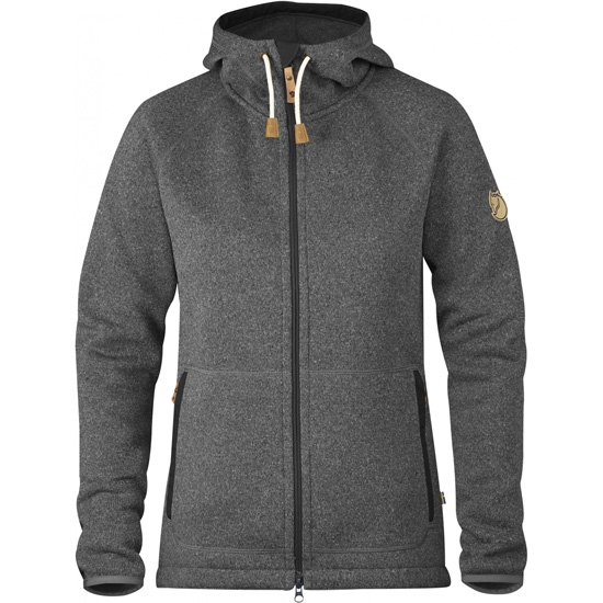 Fjällräven Övik Fleece Hoodie W - Grey