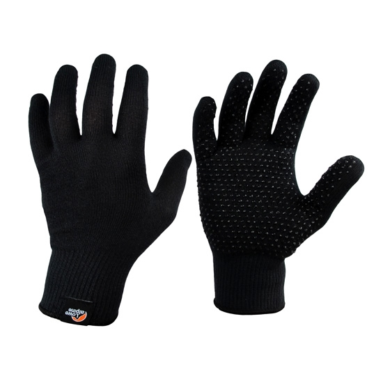 Lowe Alpine Stretch Knit Grip - Black