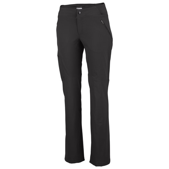 Columbia Back Up Passo Alto Straight Pant W - Black