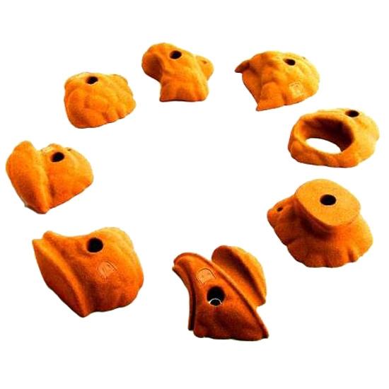 Fixe Fontainebleu Pack 8 - Naranja