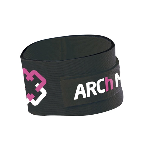 Arch Max Timing Chip Strap - Black/Pink