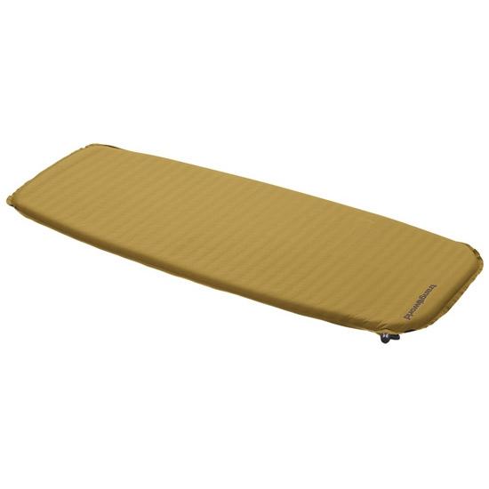 Trangoworld Micro Lite 120x50x3 cm - Amarillo mostaza/Gris