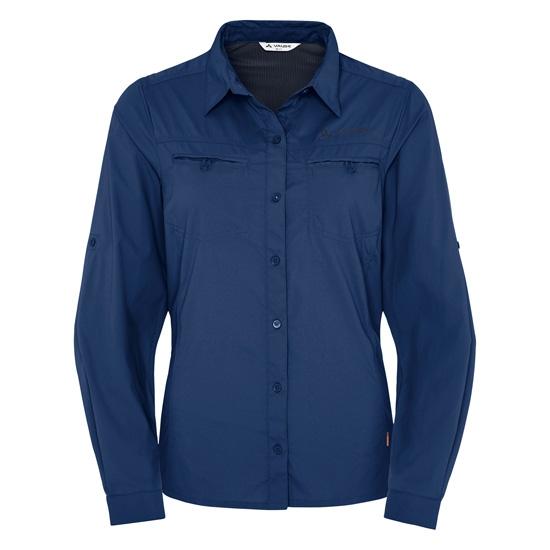 Vaude Farley Ls Shirt W - Sailor Blue