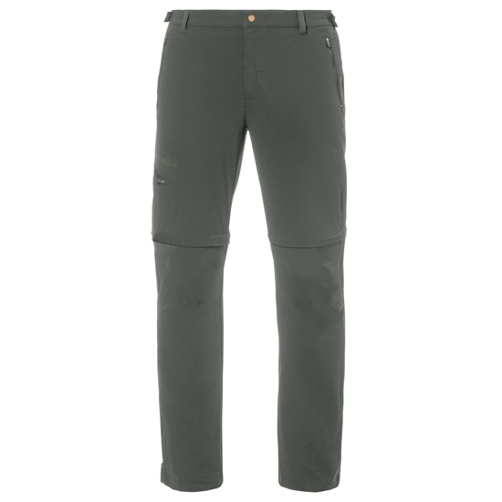 Vaude Farley Stretch T-Zip Pants II - Olive