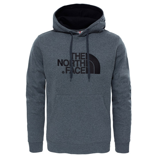 The North Face Drew Peak Pullover Hoodie - NF Medium Grey Heather/TNF Black