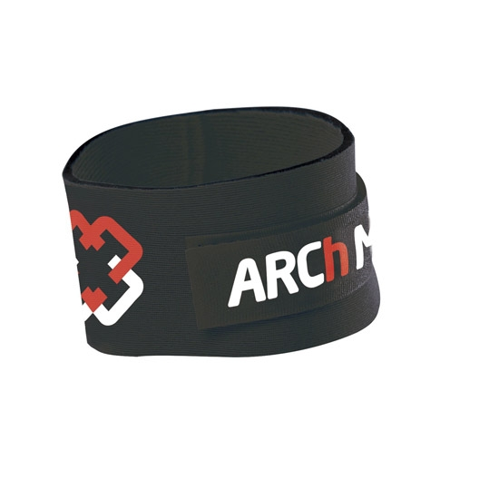 Arch Max Timing Chip Strap - Black/Red