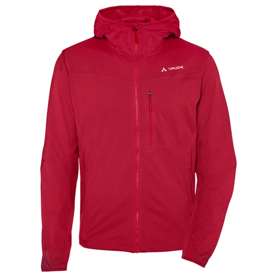 Vaude Durance Hooded Jacket - Indian Red