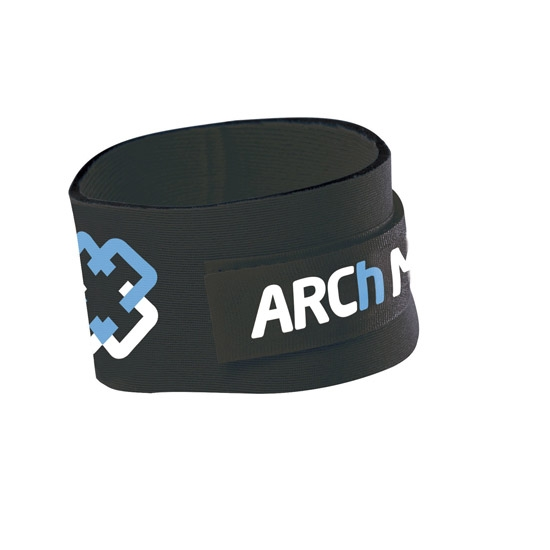 Arch Max Timing Chip Strap - Black/Blue