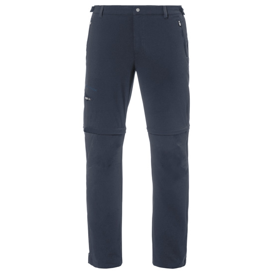 Vaude Farley Stretch T-Zip Pants II - Eclipse