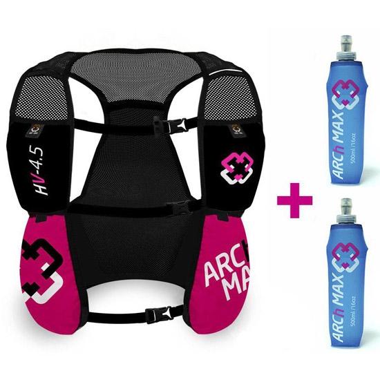 Arch Max Hydration Vest 4.5L W 2xSF 500 ml - Pink