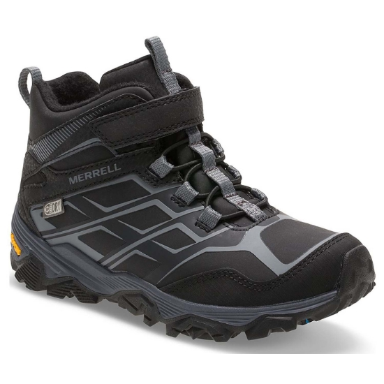 Merrell Moab FST Mid A/C Artic Grip Waterproof Jr - Black