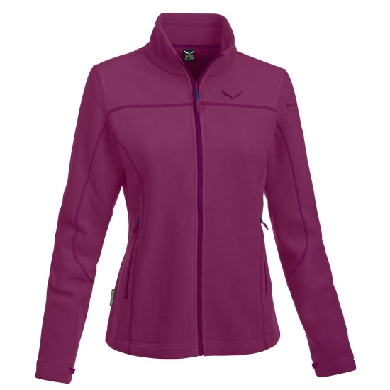 Salewa Fanes Buffalo PL Full Zip W - Red Onion