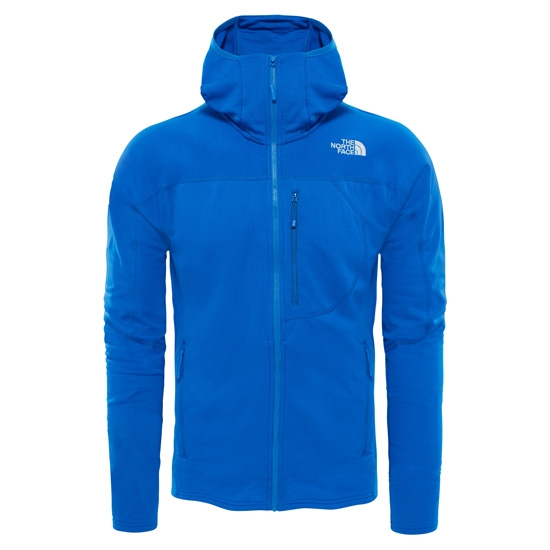 The North Face Incipent Hoodie Jacket - Monster Blue/High Rise Grey