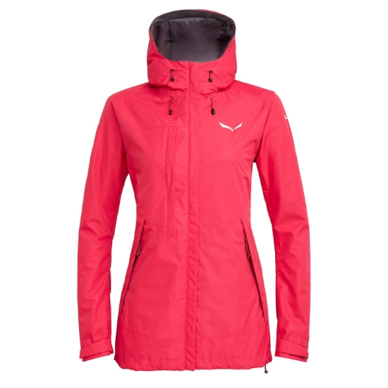 Salewa Puez Clastic Powertex 2L Jacket W - Rose Red