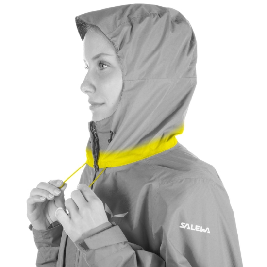 Salewa Puez Clastic Powertex 2L Jacket W - Detail Foto