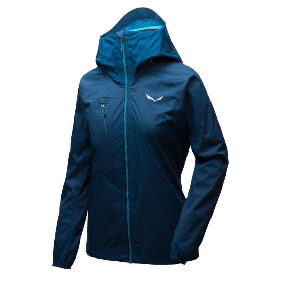 Salewa Agner Cordura 2 Powertex 2.5L Jacket W - Poseidon