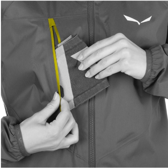 Salewa Agner Cordura 2 Powertex 2.5L Jacket W - Detail Foto