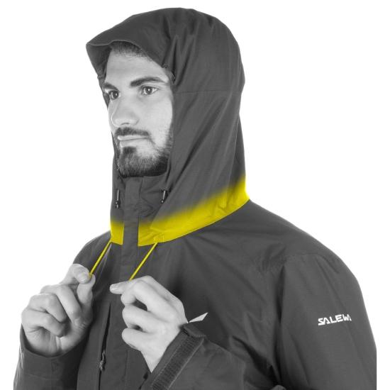 Salewa Puez Clastic Powertex 2L Jacket - Photo of detail